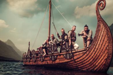 8 kníh na tému Vikingov